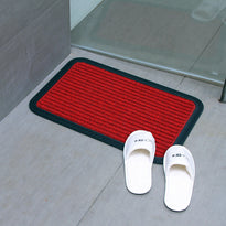 Stylish Anti Slip and Anti Fade Red Color Bath Mat - OnlyMat