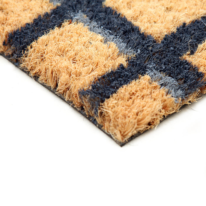 Bleach Printed Natural Coir Doormat  HRG 00042