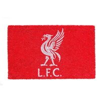 Red Color Liverpool FC Logo printed Doormat