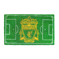 Liverpool FC Football Field printed Green Floor Mat - Official Licensed Product - OnlyMat