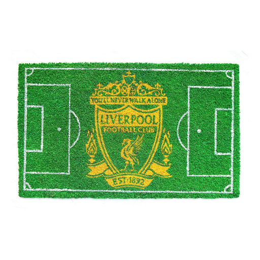 Liverpool FootBall Field Printed Mat