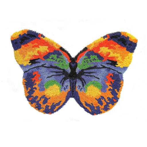 Beautiful & Colourful Butterfly Shape Anti-Slip Floor Mat - OnlyMat