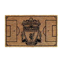 Elegant Liverpool FC Football Field printed Natural Coir Doormat - Official Licensed Product - OnlyMat