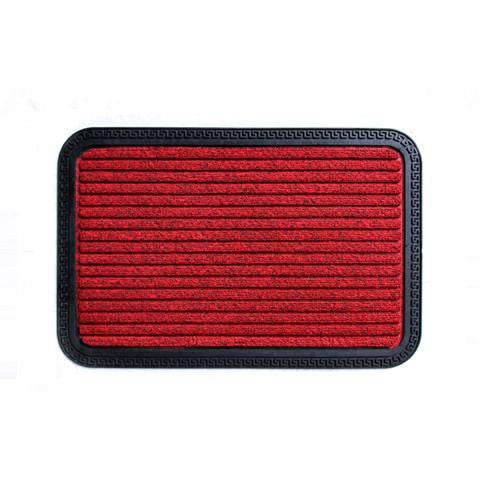 Stylish Anti Slip and Anti Fade Red Color Bath Mat