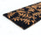 Birds and Leaf Printed Natural Coir Long and Black Door Mat