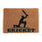 Cricket Design Natural Coir Doormat