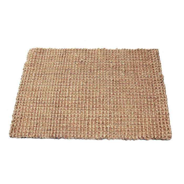 Handwoven Plain Natural Jute Floor Mat