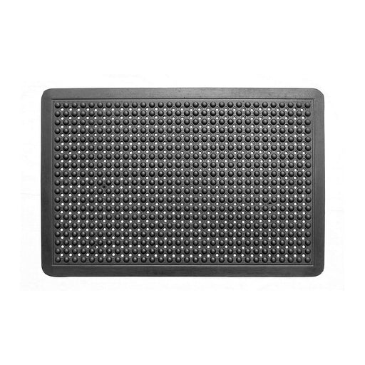 Natural Rubber Anti Fatigue Mat - Black