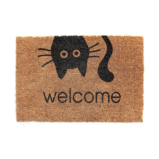 Welcome Printed Coir Doormat