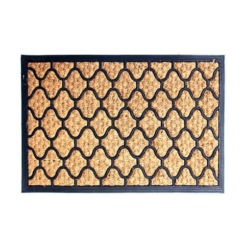 Moulded Heavy-duty Coir and Rubber Matting Mat - OnlyMat