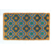 Natural Flocked Coir Doormat - OnlyMat