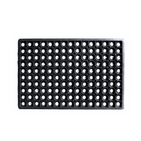 Flexible Drainage Rubber Floor Mat with Holes