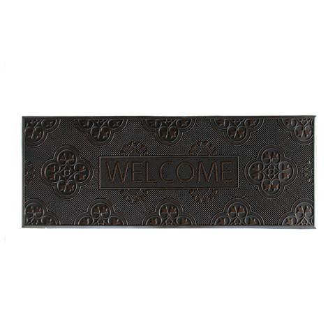 Welcome Printed Flexible Rubber Pin Mat