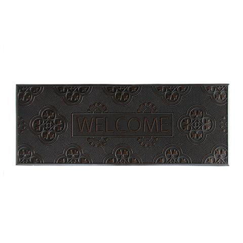 Lightweight and Long Rubber Pin Welcome Door Mat