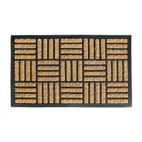 Heavy-duty Moulded Coir and Rubber Matting Mat - OnlyMat