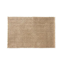 Elegant Handwoven Natural Plain Jute Floor Mat