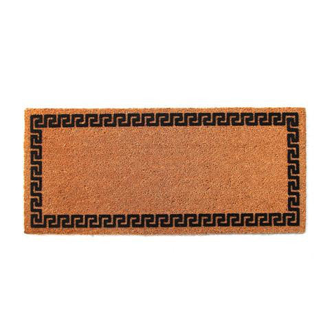 Natural Printed Flocked Coir Doormat