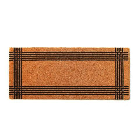 Natural Flocked Coir Doormat