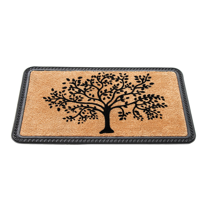 Rubber Backed Polypropylene Flock DoorMat