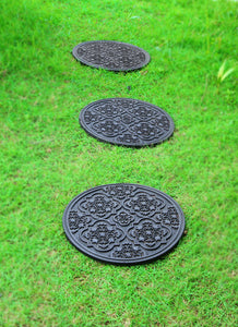 Heavy-duty Round Rubber Mat for Gas Cylinders - OnlyMat