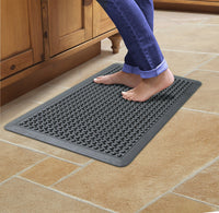 Natural Rubber Anti-Fatigue Mat - Black - OnlyMat