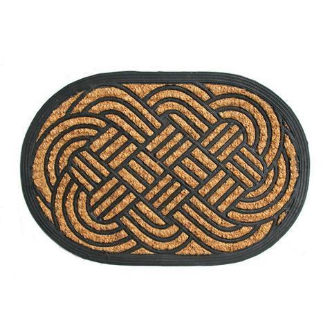 Lovers Knot Rubber Matting Doormat