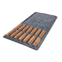 Sanitize Mat with Coir Brush and Quickdry Insert - OnlyMat