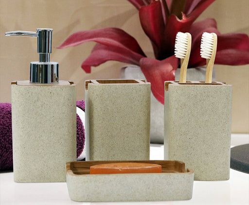 SHRESMO CUBE BATHROOM SET