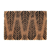 Natural Coir Leaf Printed Doormat - OnlyMat