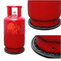 Heavy-duty Round Rubber Coaster Mat for Gas Cylinders - OnlyMat