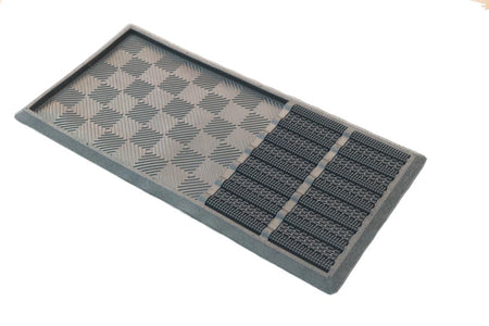 Sanitize Mat with Wet Area and Dirt Remove Pins