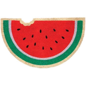 Watermelon Shape Floor Natrual Coir Anti-Slip Floor Mat