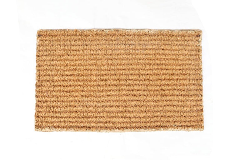 Sindal Mat - 100% Natural Handloom Coir Floor Mat with anti-skid latex backing