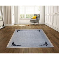 Elegant Soft Carpet  with Flocked Design - 120cm x 180cm
