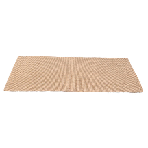 Natural Thin Jute Runner Rug Eco-Friendly Handwoven Carpet for Bedside Living Room Home Decor