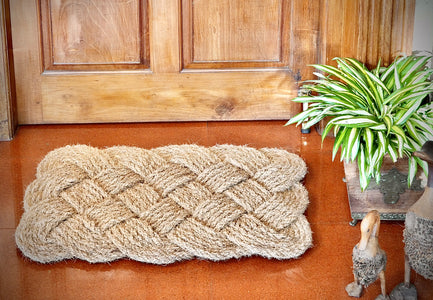 Lovers Knot - 100% Natural Handloom Coir Floor Mat