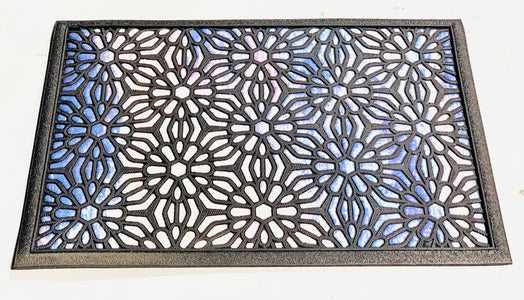 Floral Pattern All-Purpose Doormat - OnlyMat