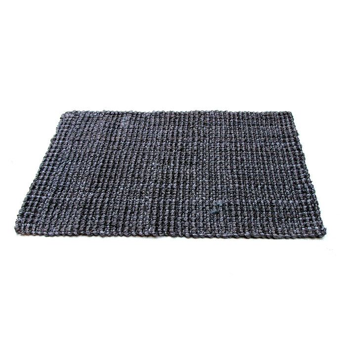 Elegant Handwoven Natural Jute Floor Mat