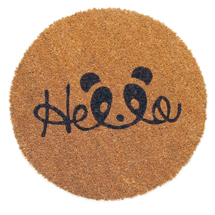 Onlymat Natural Printed Coir Shape mat