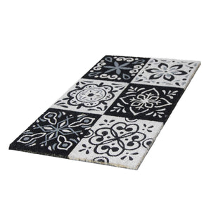 Onlymat Natural Rectangle Shape Doormat 45 * 75 cm- Multi Color - OnlyMat