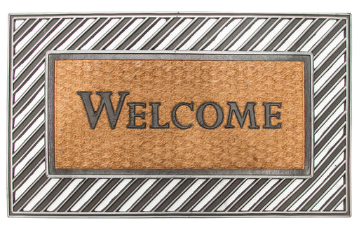 Rubber Moulded Coir Welcome Mat