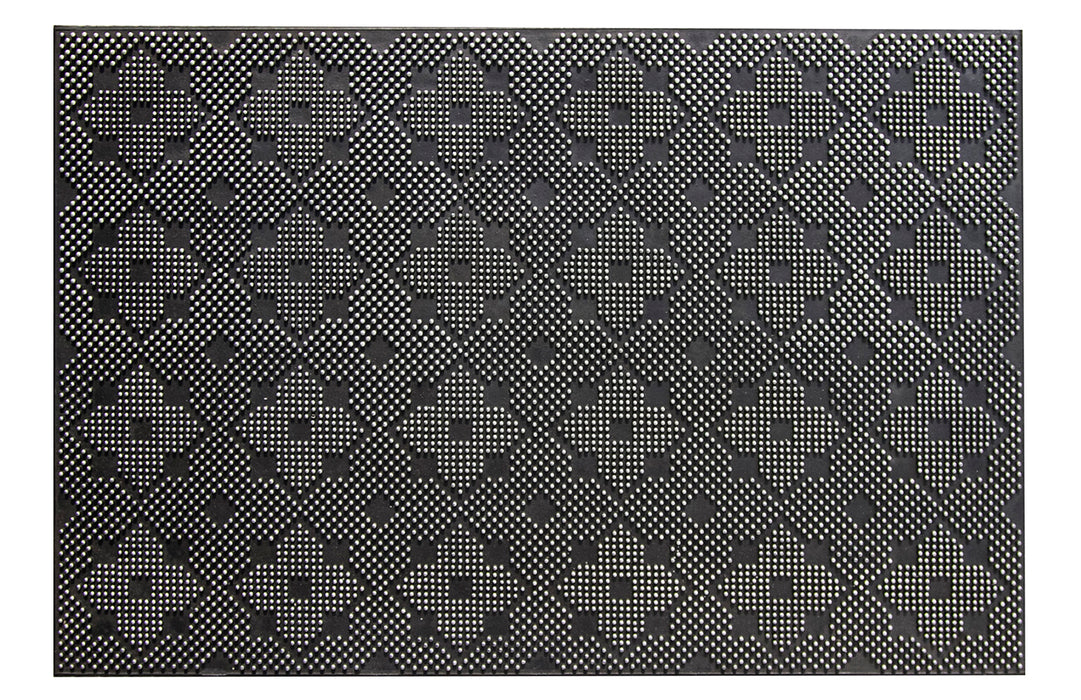 Rubber Pin Dot Door Mat