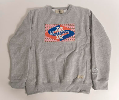 Mark Savior Women's Fame Logo Grey Sweatshirt