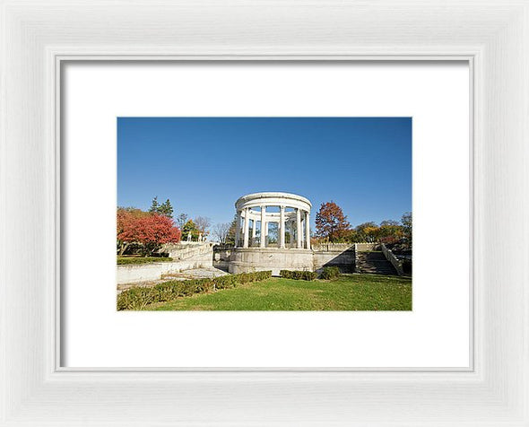 A Place Of Peace - Framed Print