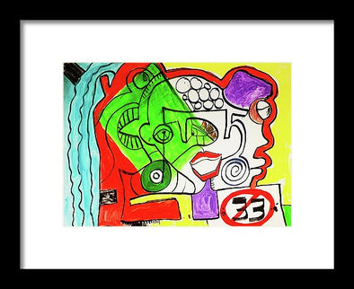 Emotions - Framed Print