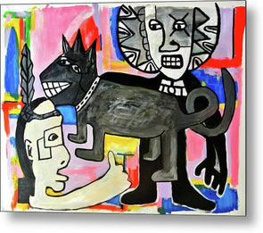 Friends You And I  - Metal Print