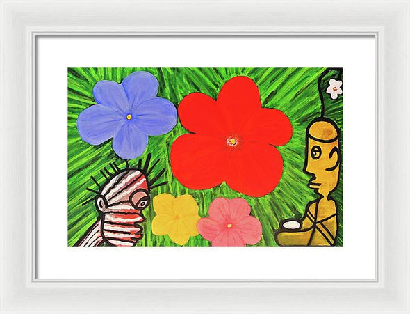 Garden Of Life - Framed Print