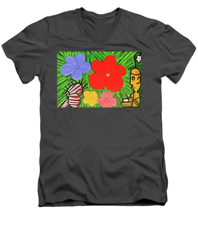 Garden Of Life - Men's V-Neck T-Shirt