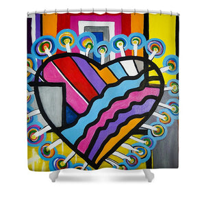 Heart - Shower Curtain