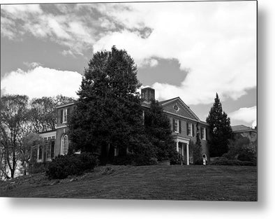House On The Hill - Metal Print